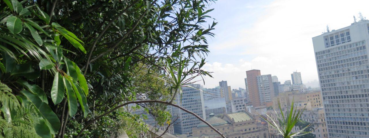 Jardim suspenso do Edificio Matarazzo