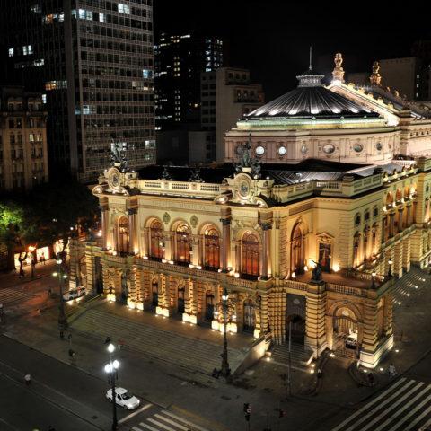 Theatro Municipal de São Paulo. Foto: Sylvio Masini