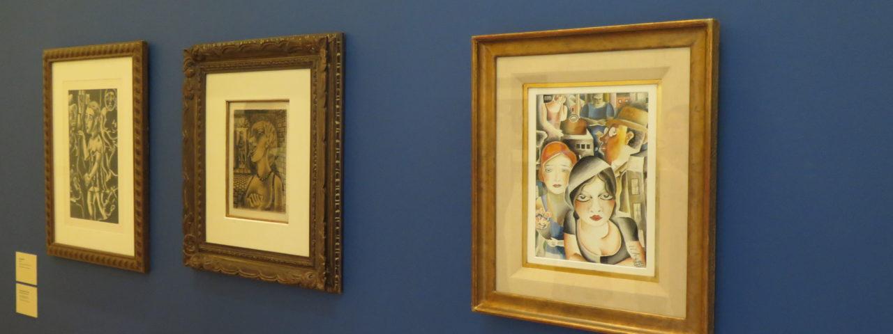 """Exposição """"No subúrbio da modernidade - Di Cavalcanti 120 anos"""" apresenta mais de 200 obras do pintor modernista na Pinacoteca. Foto: Denize Bacoccina"""