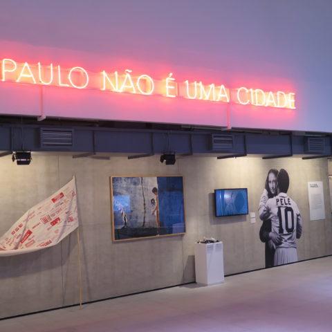 São Paulo não é uma cidade, exposição no Sesc 25 de Maio