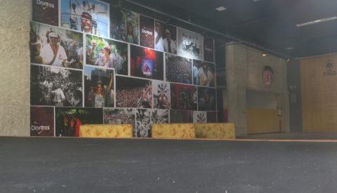 Interior da Casa do Baixo Augusta, que servirá de palco para shows e rodas de samba. Foto: Denize Bacoccina