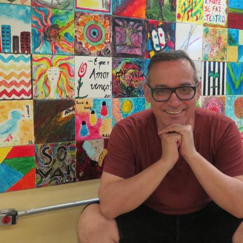 Ivam Cabral, cofundador dos Satyros e diretor executivo da SP Escola de Teatro