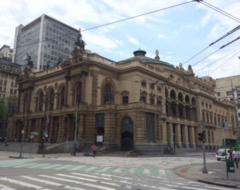 Theatro Municipal, inaugurado em 1911