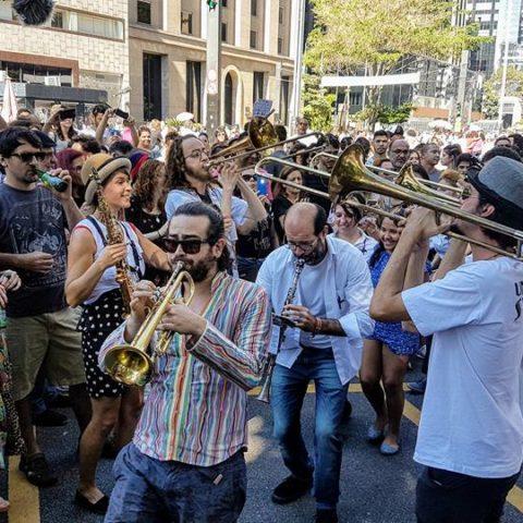 Festival Honk! de Fanfarras Ativistas
