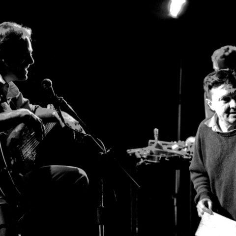 Programa Ensaio - Toquinho e Fernando Faro 1990. Foto: Flavio Bacellar/CEDOC FPA