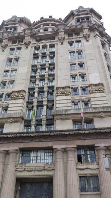 Depois do Largo do Café, a comercialização do grão migrou para este prédio, hoje sede do Tribunal de Justiça do Estado de São Paulo. Fica em frente ao Pátio do Colégio