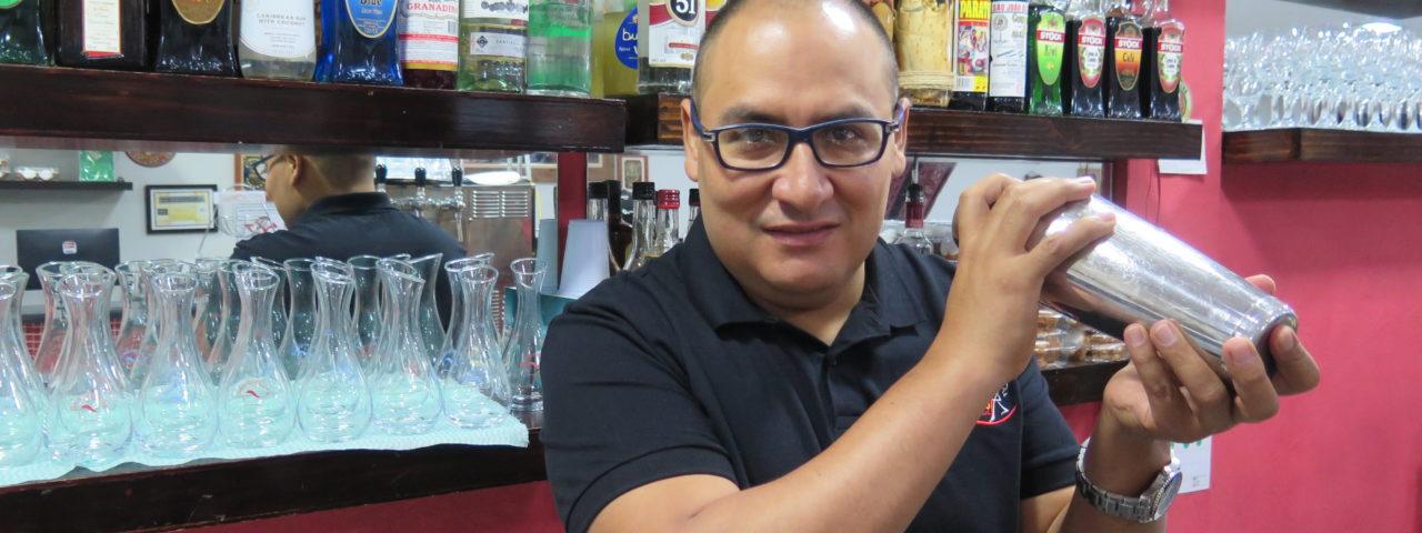 Edgard Villar, dono dos restaurantes Rinconcito Peruano