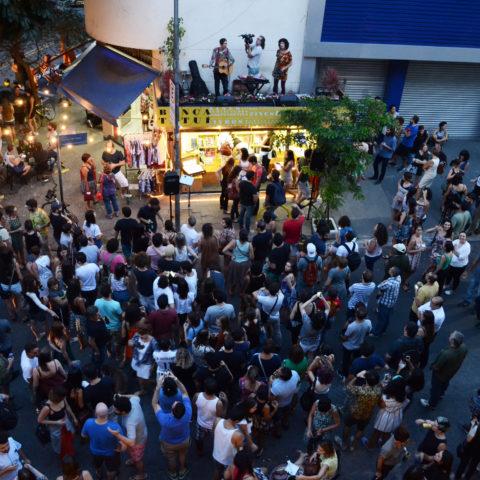 Show na Banca Tatuí. Foto: George Leoni