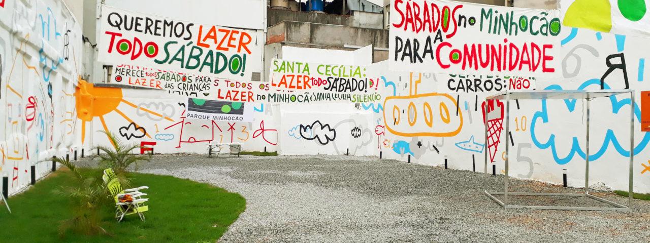 Espaço Bem Viver Centro sedia exposição e debates sobre o Parque Minhocão