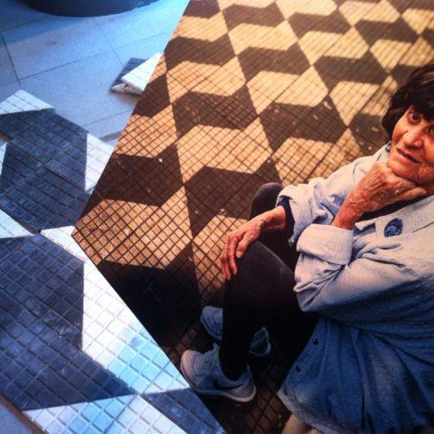 Mirthes Bernardes, criadora do piso paulista, a calçada que virou símbolo de São Paulo