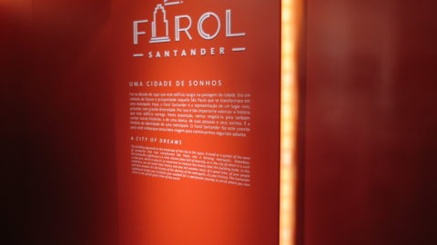 Farol Santander, reformado e rebatizado