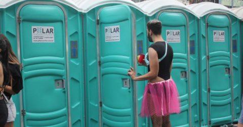 Por falta de banheiro ninguém preciso arriscar a multa de R$ 500