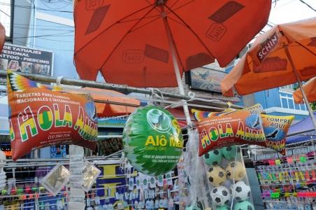 Feira de produtos típicos bolivianos no Brás. Foto: Marcia Minillo