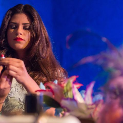 Lorena Garrido na peça O Incrivel Mundo dos Baldios. Foto: Andre Stefano