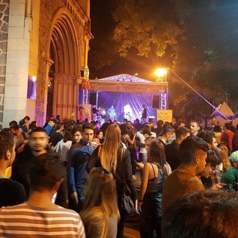 Festa junina na igreja da Consolação