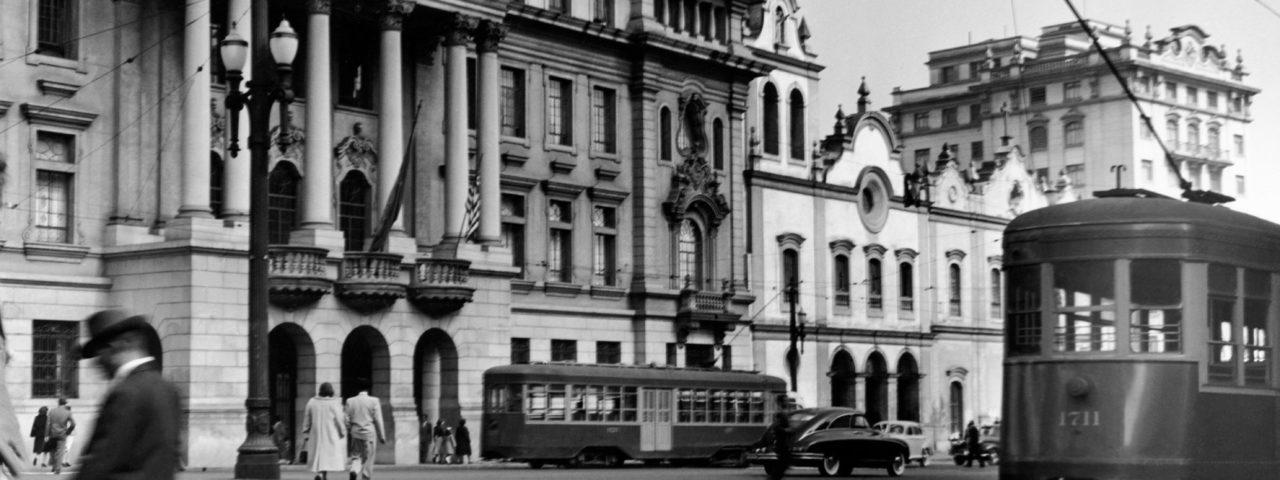 Largo São Francisco. 1954 Foto: German Lorca