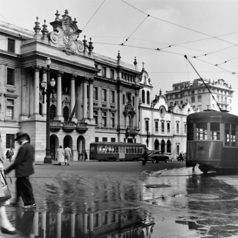 Largo São Francisco. 1954 Foto: German Lorca
