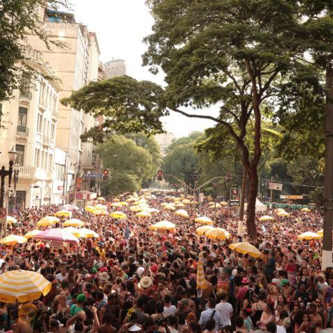 Sao Paulo 12 02 2018- Blocos de carnaval invadem a cidade de São Paulo na programação oficial da cidade Vagner Medeiros/SMPR
