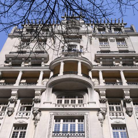Edifício Sampaio Moreira, na Rua Líbero Badaró. Construído em 1924 e restaurado em 2018, é a nova sede da Secretaria Municipal de Cultura Foto Eduardo Ogata/Secom
