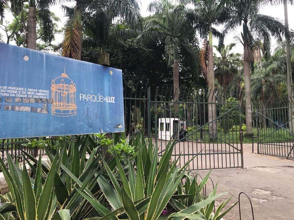 Jardim mais antigo da cidade, foi inaugurado em 1825