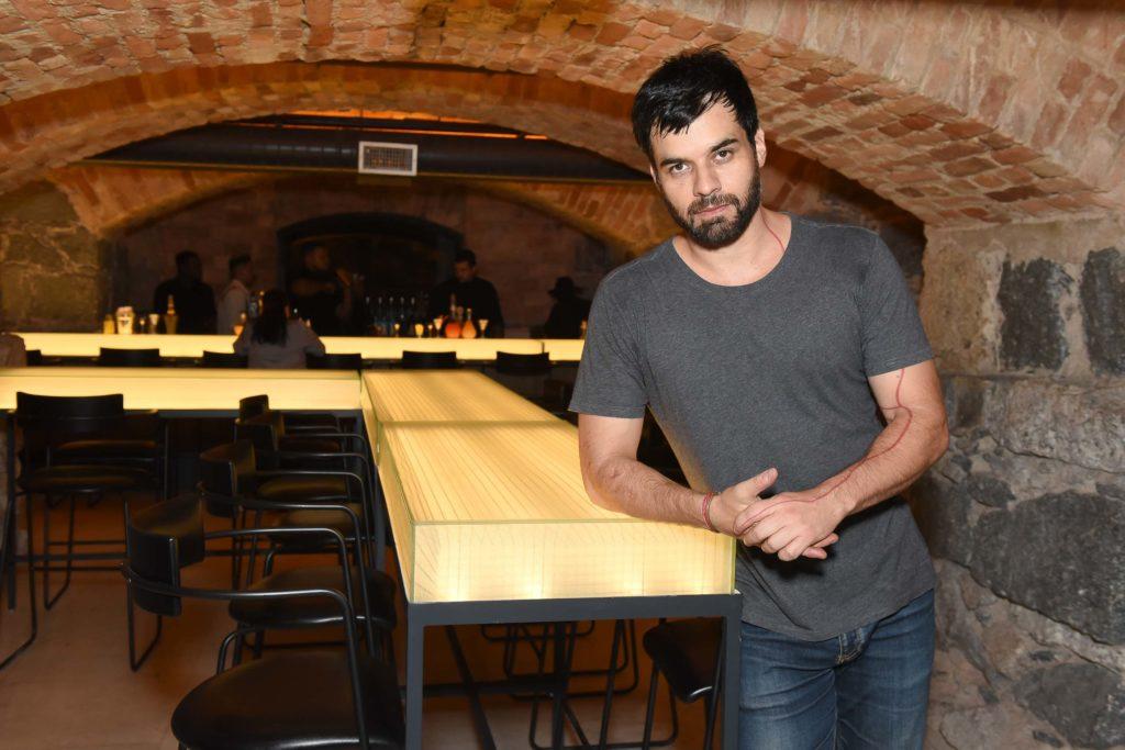 Facundo Guerra, idealizador do Bar do Arcos Foto: Cleiby Trevisan