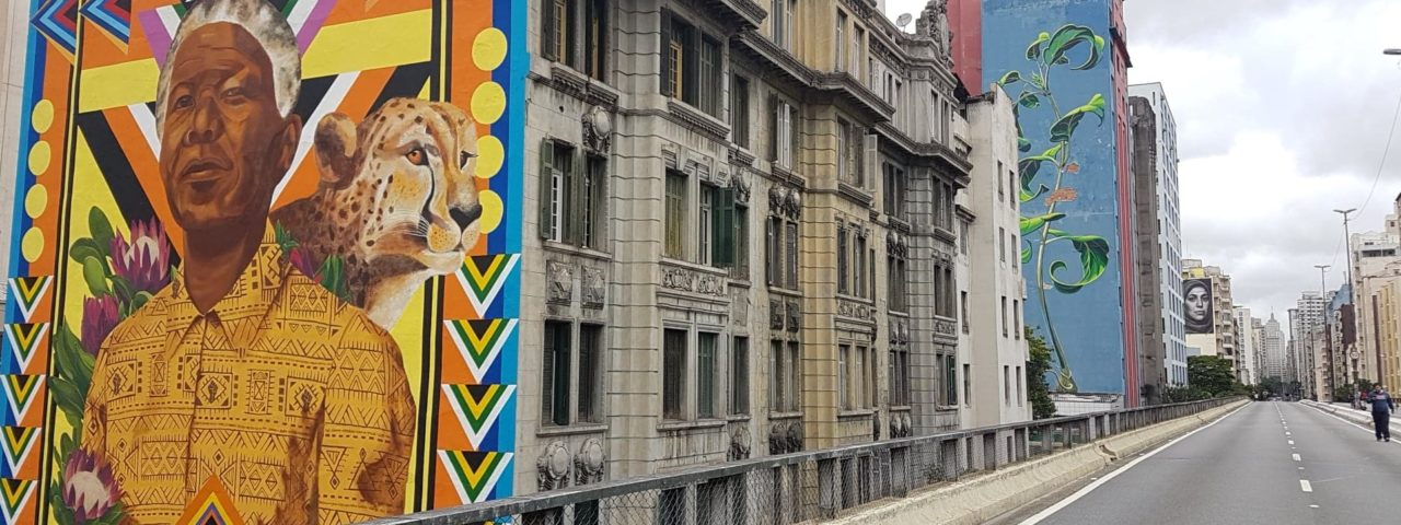 Vista privilegiada de quem faz o trajeto Barra Funda-Centro