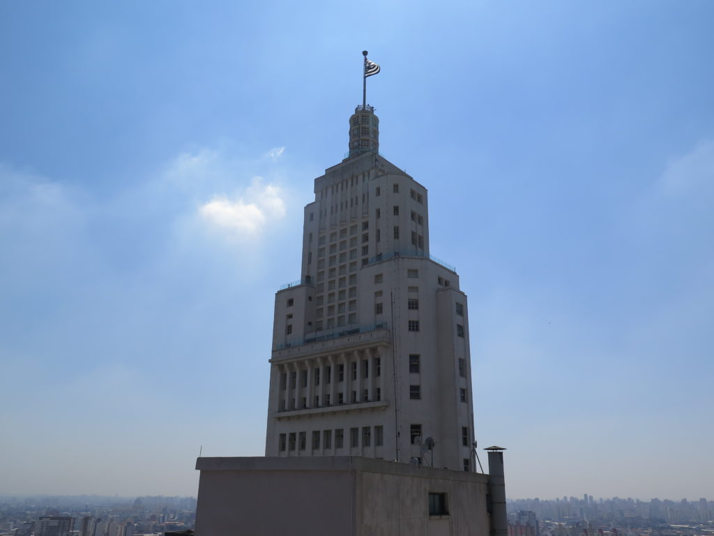 Edifício Altino Arantes, hoje Farol Santander, visto do mirante do Martinelli. Foto: A Vida no Centro