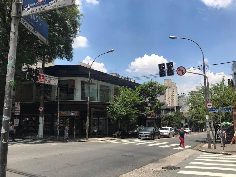 Rua Augusta - lugares famosos