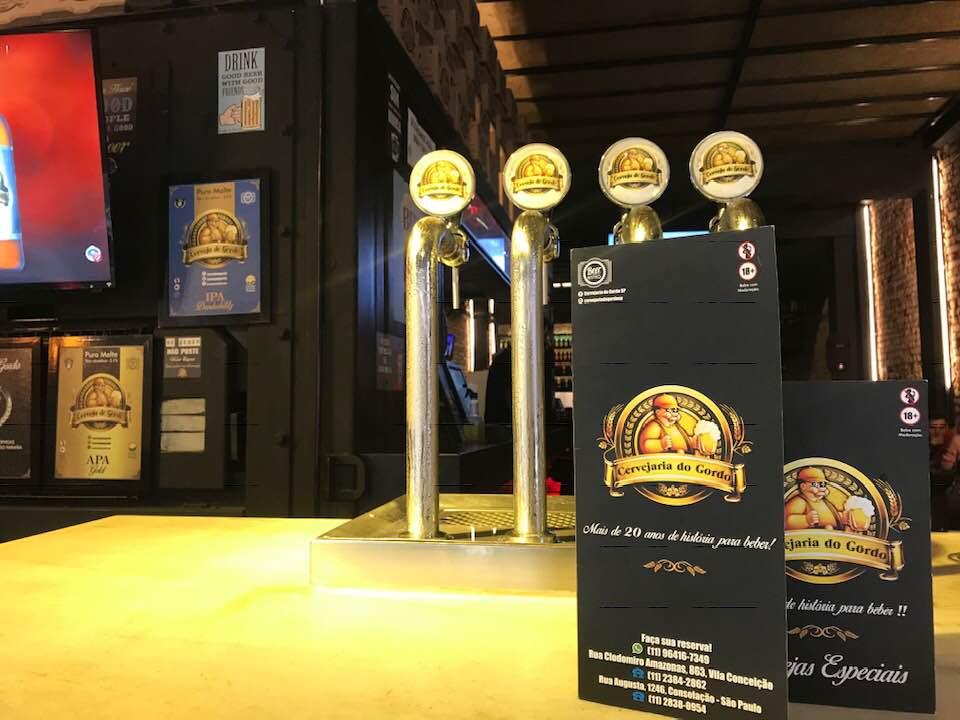 Cervejaria Gordo - cervejarias no centro de sp