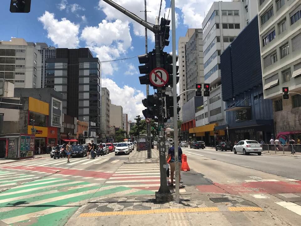 Rua da Consolação - lugares famosos