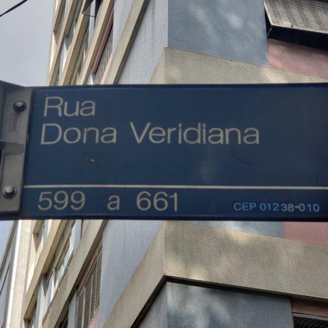 Dona Veridiana-rua