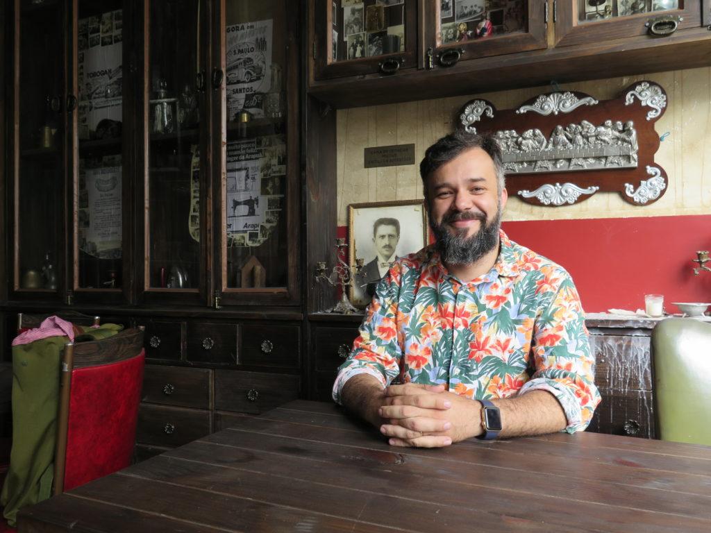 Herbert Holdefer, arquiteto criador de projetos que deram nova cara à gastronomia do Centro