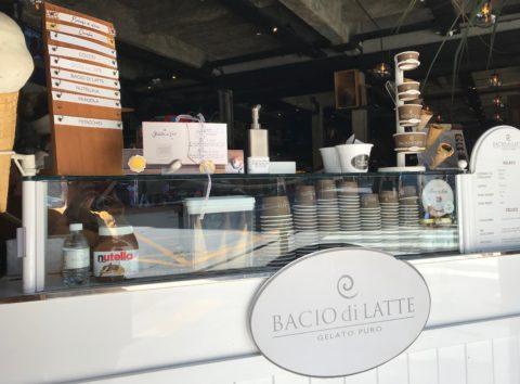 Bacio de Latte - sorveterias no Centro de São Paulo