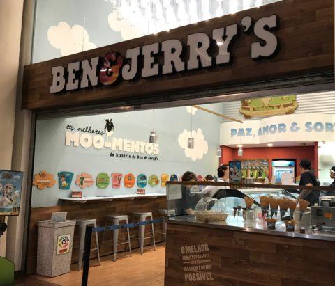 Ben Jerrys - sorveterias no Centro de São Paulo
