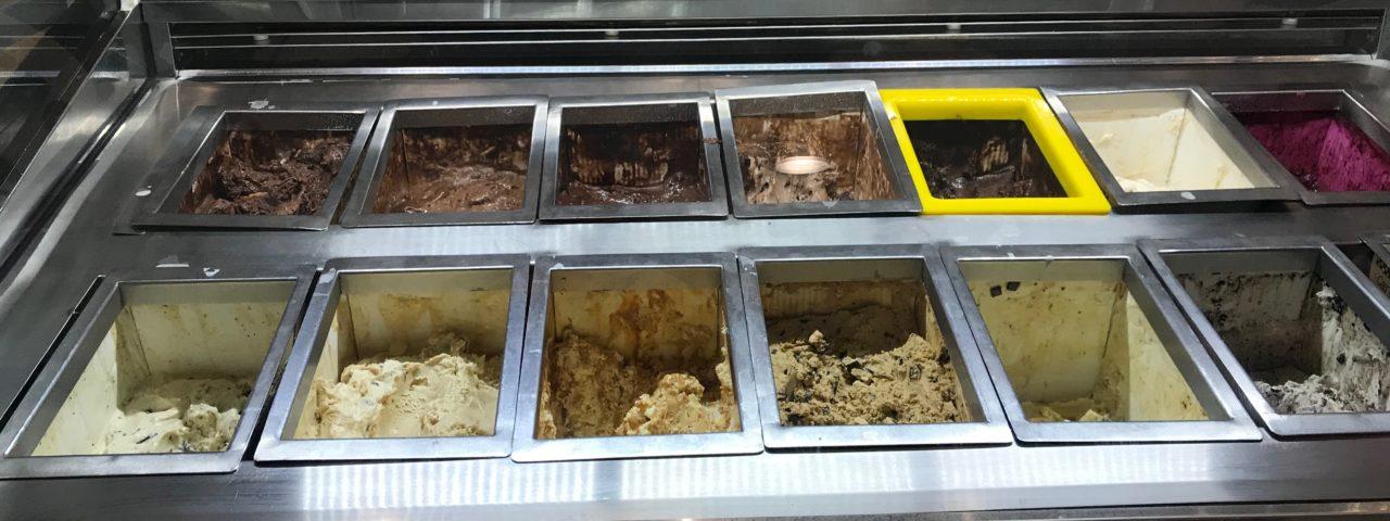 sorveterias no Centro de São Paulo