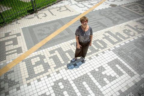 Regina Silveira Imagem: Bruna Golberg / Divulgação
