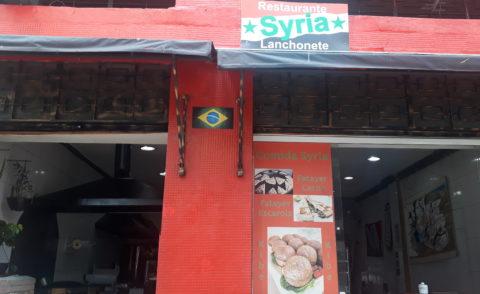 Syria - bares e restaurantes de imigrantes