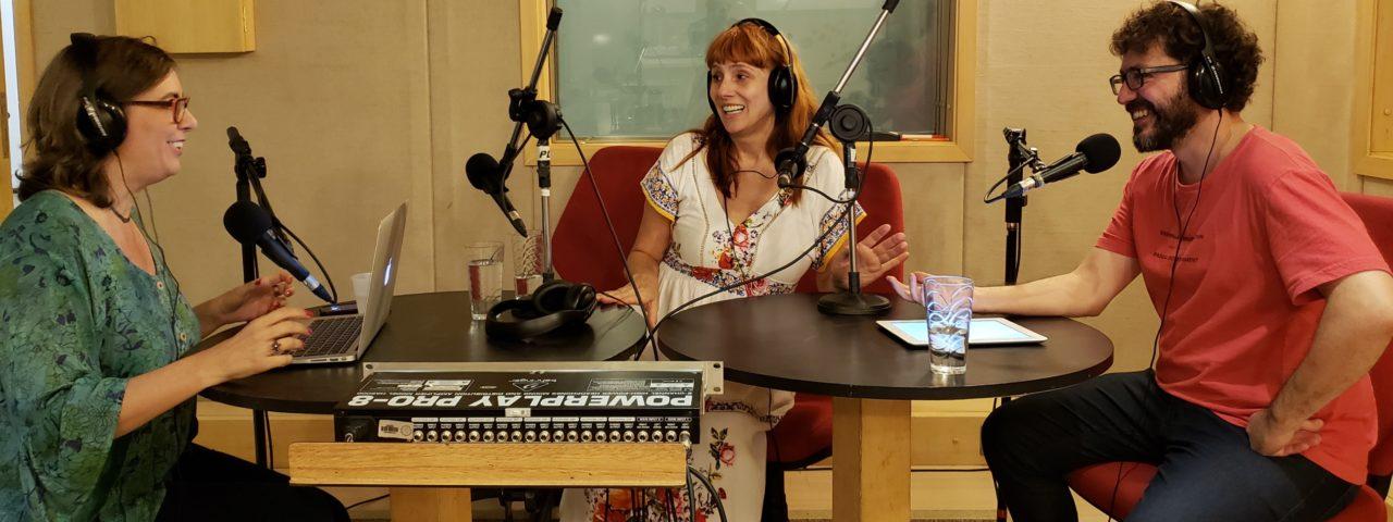 Nicole Puzzi - podcast PodCentro