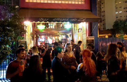 Bar Amigos do Zé - Praça Roosevelt