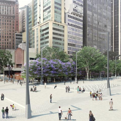 Projeto de reforma de Vale do Anhangabaú
