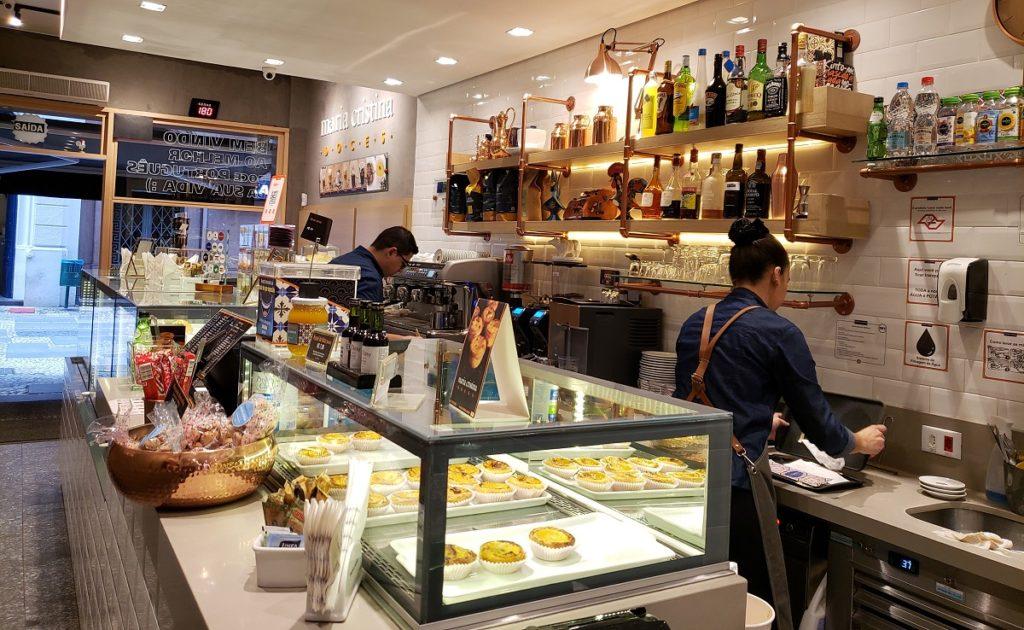 Maria Cristina - Cafés no Centro Histórico