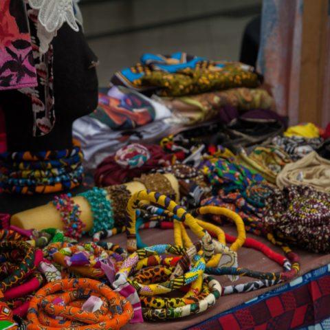 Feira Preta no Festival A Vida no Centro