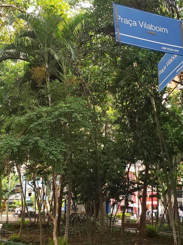 Higienópolis - Praça Vilaboim