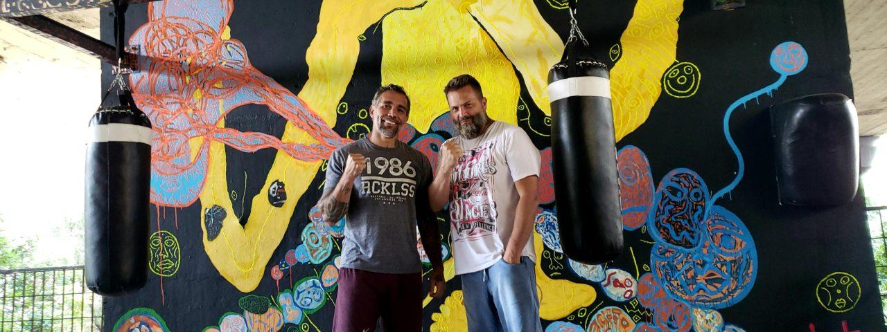 Moisés Batista de Souza e Klaus Pian, criadores do Complexo #9