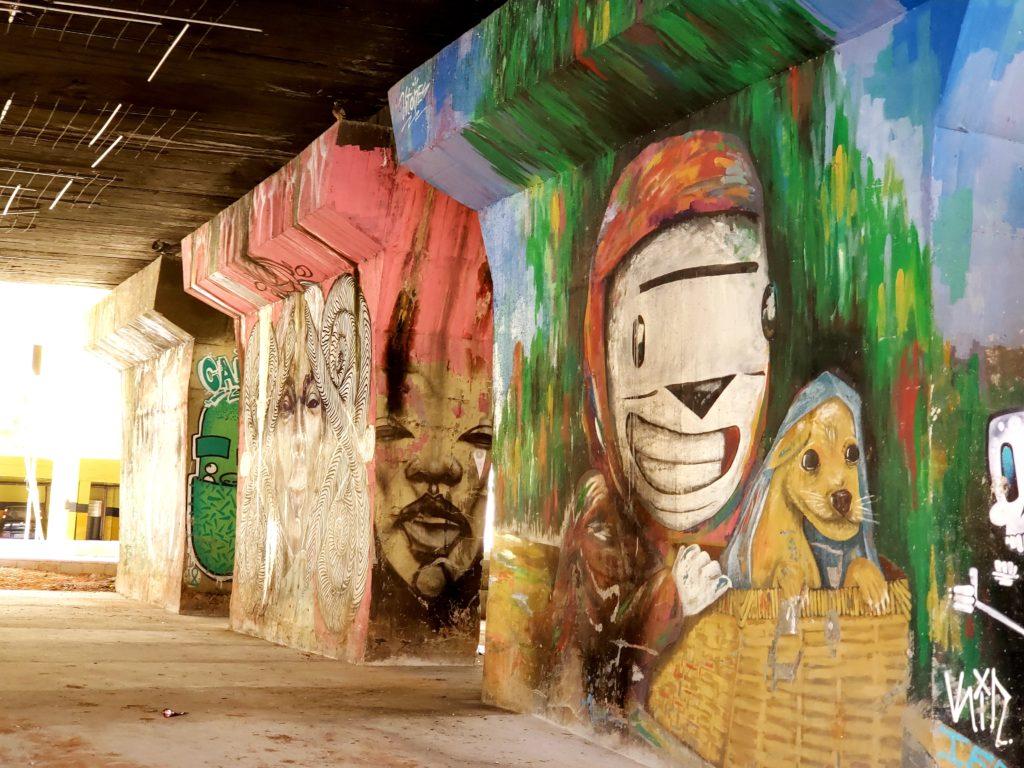 Área externa do Complexo #9