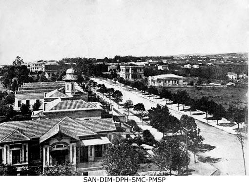Avenida Paulista em 1915