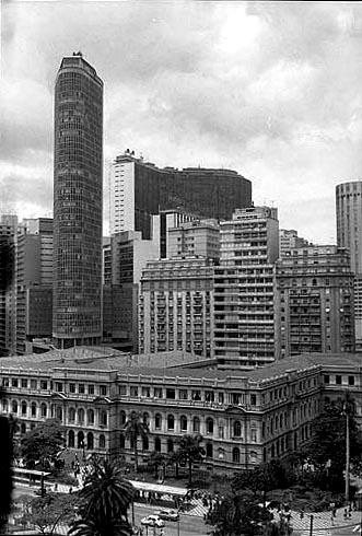 Colégio Caetano de Campos em 1975 Foto: Waldemir Lima/Museu da Cidade de São Paulo
