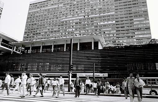 Conjunto Nacional em 1991 Foto: Marcia Ines Alves/Museu da Cidade de São Paulo