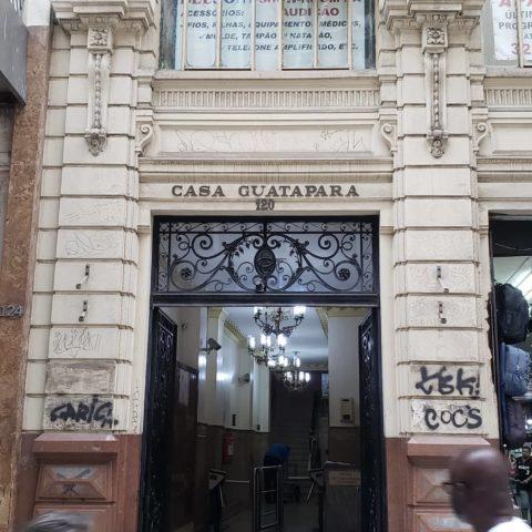ramos de café nas fachadas - Casa Guatapara