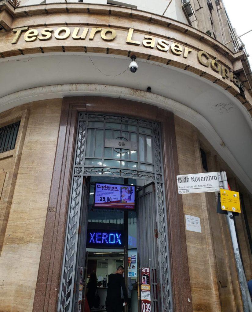 ramos de café nas fachadas - Edifício Azevedo Villares
